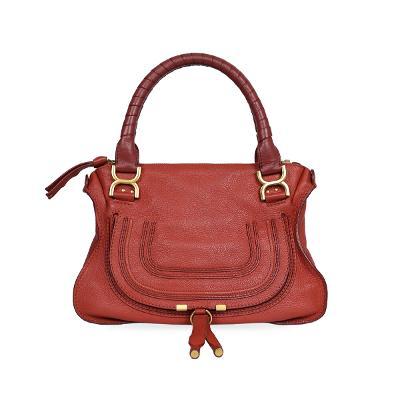 marcie medium bag red